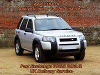 2004 04 LAND ROVER FREELANDER 1.8 SE STATION WAGON 5D 116 BHP