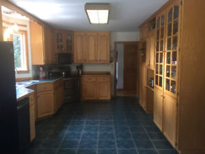 Oak Kitchen Cabinets - will sell separately