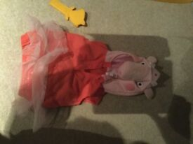 Peppa pig dress up outfit for 1-2 years from Next