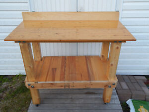 Wooden Work Bench  $175.00 OBO