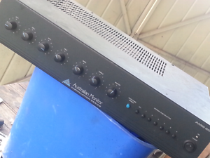 Australian Monitor AMIS60 60W 4 Channel Mixer Amplifier XLR RCA Meadow Heights Hume Area Preview
