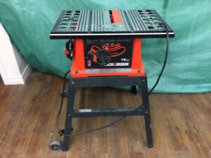 Table Saw Missing Fence w Stand