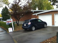 Single Garage 2 minutes walk to Brentwood LRT and U of C