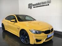 2016 BMW M4 3.0 DCT Coupe Individual speed yellow! *only 6,000 miles* great spec