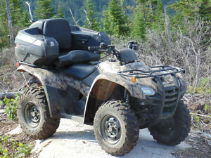 Used 2013 Honda fourtrax trx 420 canadian trail edition