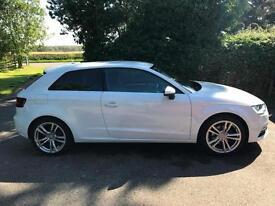 2014 64 Audi A3 1.4 TFSI Sport Hatchback 3dr Petrol S Line Alloys