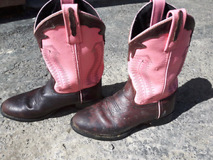 Girls Old West  cowgirl boots