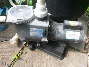 Pompe Waterway Champion 1.5hp pour piscine creusée