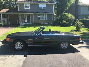 Classic Mercedes Convertable Priced to Sell