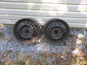 (2 ) Buick century  steel rims for sale