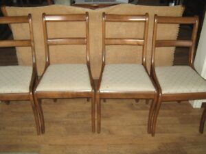 DUNCAN PHYFE - 4 antique chairs