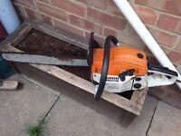 MT 999 chainsaw