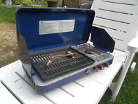 woods portable gas stove very good condition  or best offer
