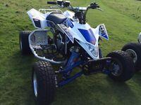 SUZUKI LTR 450 QUAD BIKE ROAD LEGAL YFZ RAPTOR TRX LTZ £450