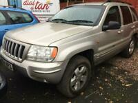 2004 Jeep Grand Cherokee 2.7 CRD Limited 5dr Auto ESTATE Diesel Automatic