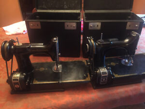 Singer Featherweight Sewing Machines (2)
