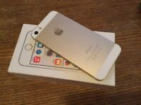 Brand new gold iPhone 5s