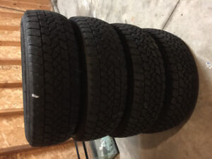 195/70/14 Winter Tires on Rims for Sale