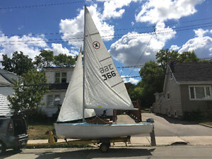 Sirocco Sailboat model: e15 with 4hp engine and trailer
