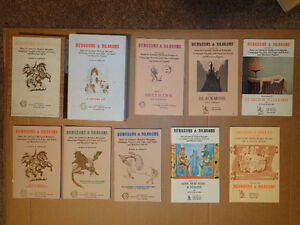 WANTED Dungeons & Dragons + Other Roleplaying Games RPG old new Kitchener / Waterloo Kitchener Area image 1