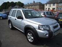 Land Rover Freelander 2.0 Td4 Adventurer 5 Door. 12 Months MOT