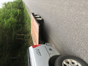 Deck over utility trailer