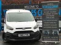 2013 63 FORD TRANSIT CONNECT 1.6 200 P/V 5D (S/S) 74 BHP PANEL VAN DIESEL