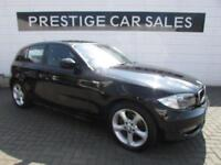 2011 BMW 1 Series 2.0 118d Sport 5dr Diesel black Automatic