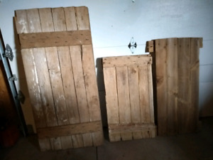 Barn doors and hatches