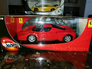 1:18 Diecast Hot Wheels Ferrari Enzo Red