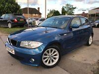 BMW 118 118i SE (blue) 2005