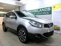 Nissan Qashqai 1.6 N-TEC [3X SERVICES, SAT NAV, PANORAMIC ROOF and REVERSE CAMER