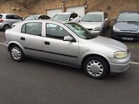 Vauxhall Astra, 2002/51, 1.6 petrol, only 79,000 miles, long mot, £695