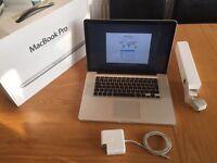 "Apple MacBook Pro 15"" 2.4ghz 8GB SSD Logic Pro X Final Cut Adobe cs6"