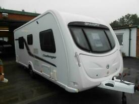 NOW SOLD 2011 Swift Challenger 565 Luxury Touring Caravan