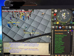 OSRS - ACCOUNT - 95att/99str/94def/90mage/99cook/99fletch/ 1778T West Island Greater Montréal image 1