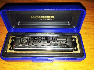 harmonica m,hohner blues harp