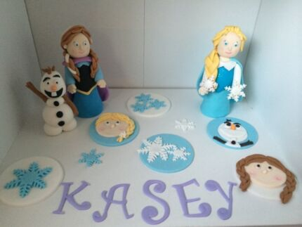 Edible Fondant Cake Toppers Merriwa Wanneroo Area Preview