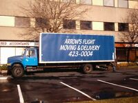 Moving and delivery services.
