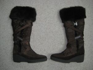 Coach Brown Winter Boots