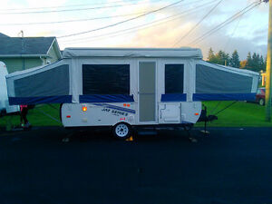2011 Jayco 1207 Tent trailer with remote lift system