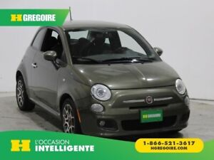 2012 Fiat 500 Sport A/C GR ELECT MAGS BLUETOOTH