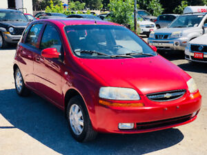 2005 Chevrolet Aveo Hatchback *Fully Certified* * Accident Free