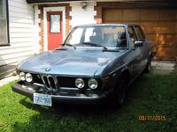 RARE 1975 BMW 3.0Si Sedan