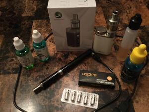 2 vaporeuses, 1 blanche 75 watts/ 1 noire VON ERL. PAYÉ +300$
