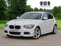 2014 14 BMW 1 SERIES 2.0 120D M SPORT 5D 181 BHP DIESEL REAR PARKING SENSORS