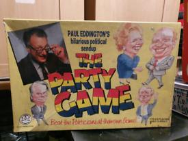 1989 Paul Eddington hilarious political sendup The party game.