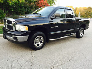 2002 DODGE RAM 1500 CREW CAB 4X4 P WINDOWS COLD AIR RUNS GREAT!!