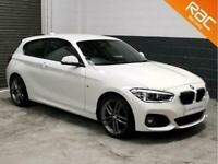 2018 BMW 1 Series 120d M Sport 3dr (NAV) Hatchback Diesel Manual