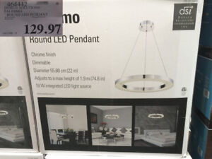 DSI Palermo Round LED Light fixture (New in Box)